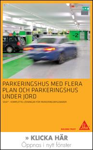 Sika - Kompletta lösningar för parkeringsbyggnader
