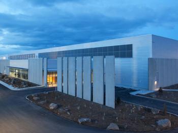 Presentationsbild för referensen Gold data center, Facebook