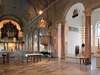 Bild för referens Domkyrkan i Härnösand, etapp 2