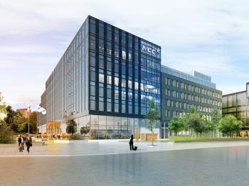 Presentationsbild för referensen Herrjärva NCC huvudkontor