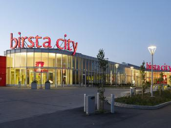 Presentationsbild för referensen Birsta City