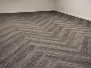 Bild för referens Golv i nybyggt kontor i Enköping