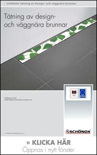 Schönox - tätning av design och väggbrunnar